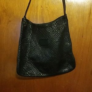Proenza Schouler Pebbled Leather Black Tote